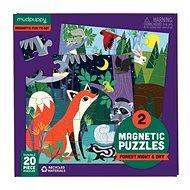 Magnetické puzzle - Les - Puzzle