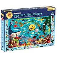 Puzzle hledej a najdi - Možský život (64 ks) - Puzzle