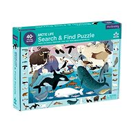 Puzzle hledej a najdi - Arktický život (64 ks)