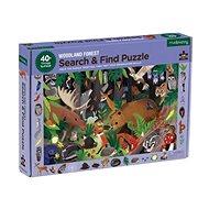 Puzzle hledej a najdi - V lese (64 ks) - Puzzle
