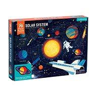 Geography Puzzle - Sluneční soustava (70 ks)  - Puzzle