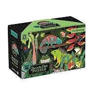 Svíticí puzzle - Žáby a jěštěrky (100 ks) - Puzzle