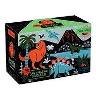 Svíticí puzzle - Dinosaurus (100 ks) - Puzzle