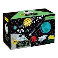 Svíticí puzzle - Vesmír (100 ks) - Puzzle
