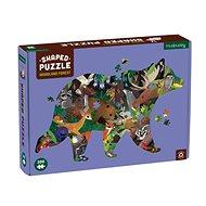 Tvarované puzzle - Z lesa (300 ks)  - Puzzle