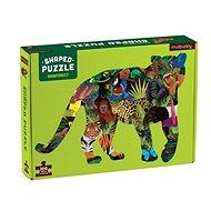 Tvarované puzzle - Deštný prales (300 ks)