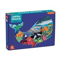 Tvarované puzzle - Život v oceánu (300 ks) - Puzzle