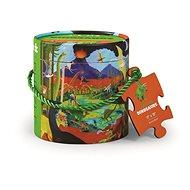 Puzzle mini tubus - Svět dinosaurů (24 ks)