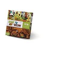 Nad zemí a pod zemí puzzle - Dvorek (48 ks) - Puzzle