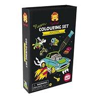 Omalovánky Neon Colouring Sets / Hvězda silnic