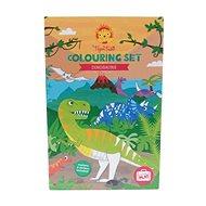Omalovánky Colouring Sets / Dinosaurus