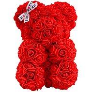 Rose Bear Red Teddy Bear Made of Roses 25cm - Rose Bear