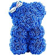 Rose Bear Blue Teddy Bear Made of Roses 25cm - Rose Bear