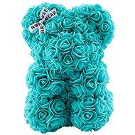 Rose Bear Tiffany Teddy Bear Made of Roses 25cm - Rose Bear
