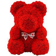 Rose Bear Red Teddy Bear Made of Roses 38cm - Rose Bear