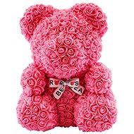 Rose Bear Růžový medvídek z růží 38 cm - Medvídek z růží