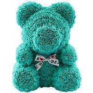 Rose Bear Tiffany Teddy Bear Made of Roses 38cm - Rose Bear