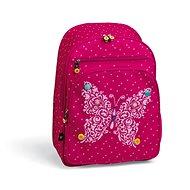 Busquets Girl's school backpack Fuchsia Butterfly - School Backpack