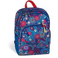 Busquets Dívčí školní batoh Blue Kashmir - Školní batoh