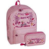 Busquets Dívčí sada školní batoh+pouzdro Magic - Školní set