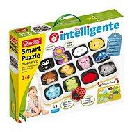 Skládačka Smart Puzzle magnetico first colors and words – magnetická skládačka