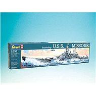 Plastic ModelKit boat 05092 - Battleship USS Missouri - Model Ship