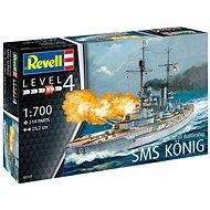 Plastic ModelKit loď 05157 - WWI Battleship SMS KÖNIG