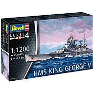 Plastic ModelKit loď 05161 - HMS King George V