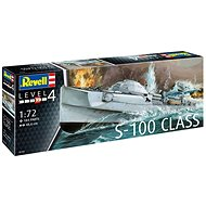 Plastic ModelKit loď 05162 - German Fast Attack Craft S-100 CLASS - Model lodě