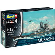 Plastic ModelKit boat 06822 - Musashi - Model Ship