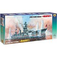 Model Kit Ship 9052 - Battleship Marat - Model Ship