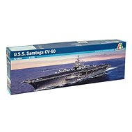 Model Kit ship 5520 - USS Saratoga CV-60 - Model Ship