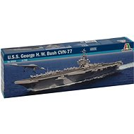 Model Kit loď 5534 - U.S.S. George H.W.Bush CVN 77