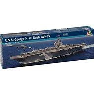 Model Kit loď 5534 - U.S.S. George H.W.Bush CVN 77 - Model lodě