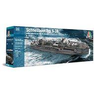 Model Kit loď 5620 - Schnellboot S-38 with Bofors - Model lodě