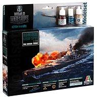Model Set World of Warships 74003 - Admiral Graf Spee - Plastikový model