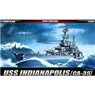 Model Kit ship 14107 - USS CA-35 Indianapolis - Model Ship