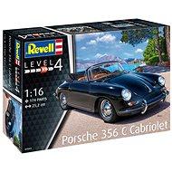 Plastic ModelKit auto 07043 - Porsche 356 Cabriolet - Model auta