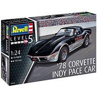 Plastic ModelKit auto 07646 - '78 Corvette Indy Pace Car - Model auta