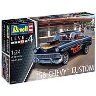 Plastic ModelKit auto 07663 - '56 Chevy Customs