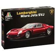 Model Kit car 3649 - Lamborghini Miura Jota SVJ - Model Car