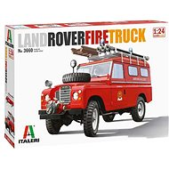 Model Kit auto 3660 - Land Rover Fire Truck - Model auta