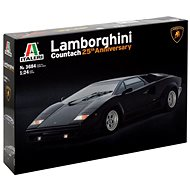 Model Kit auto 3684 - Lamborghini Countach 25Th Anniversary