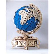 Ewa Eco-Wood-Art Globus Modrý - 3D puzzle