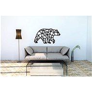 Ewa Eco-Wood-Art Nástěnné Puzzle Medvěd - 3D puzzle