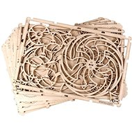 Wooden City Kinetic Image - 3D Puzzle