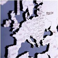 Wooden City Mapa Světa XL - 3D puzzle
