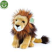 Rappa plyšový lev sedící, 18 cm, ECO-FRIENDLY