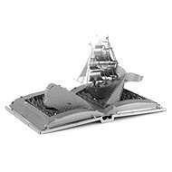 Metal Earth 3D puzzle Kniha: Bílá velryba - 3D puzzle