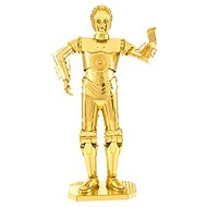 Metal Earth 3D puzzle Star Wars: C-3PO (zlatý) - 3D puzzle